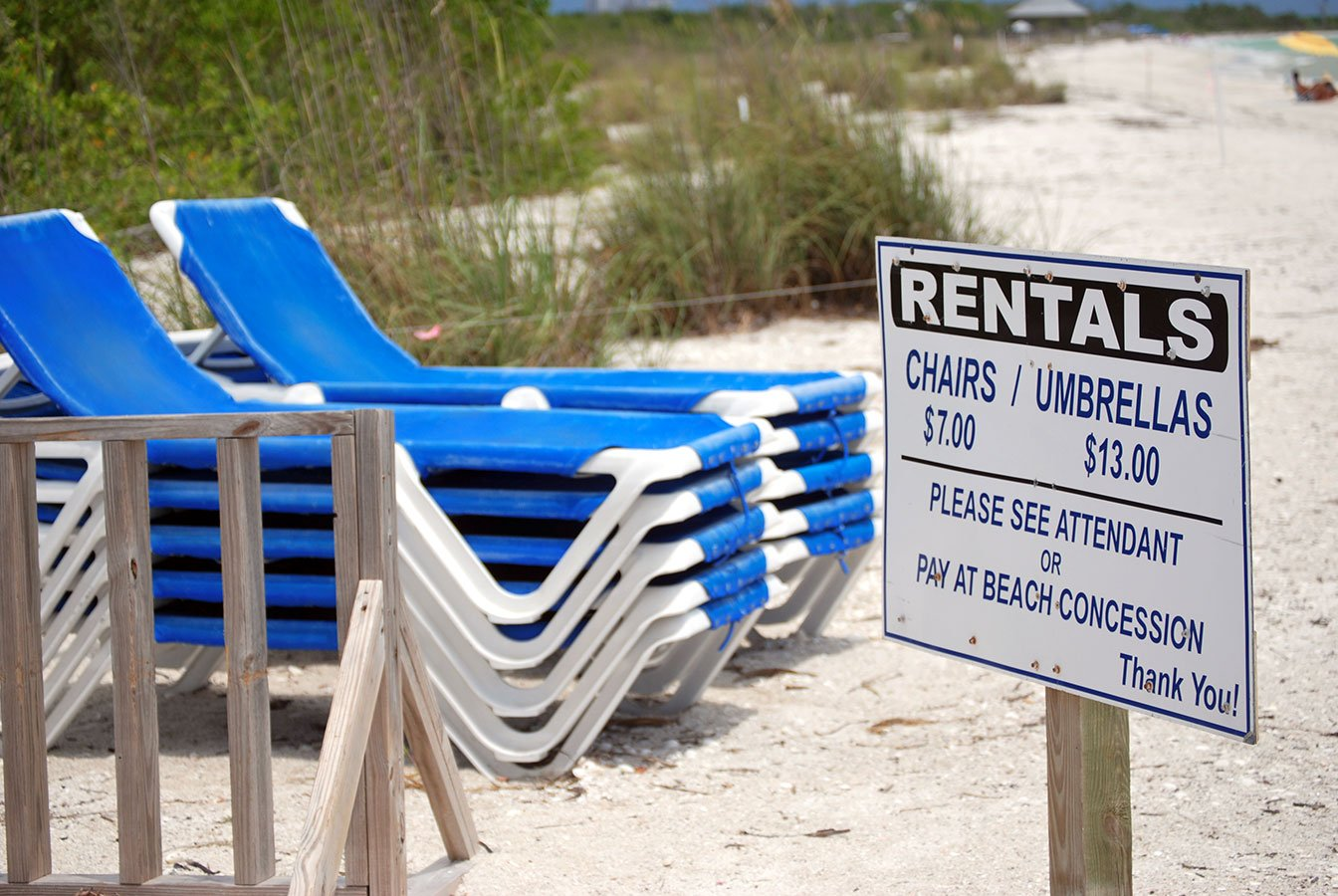 Beach Chair Rentals Ft Myers Beach