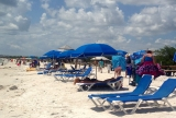 Enjoying Sun and Sand at Lovers Key Beach