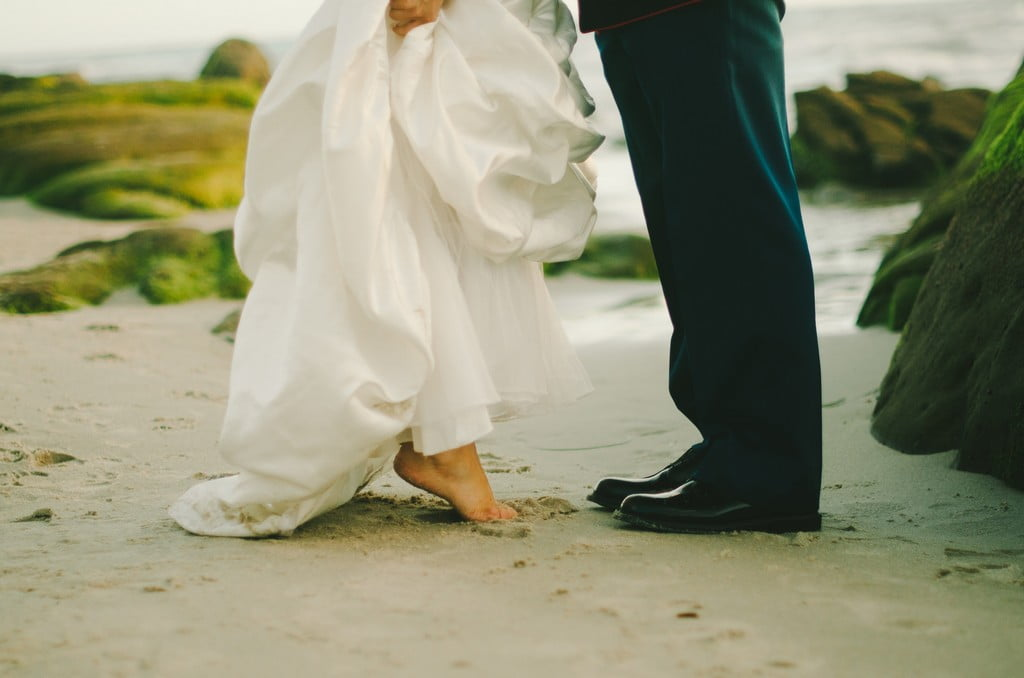 5 simple beach wedding ideas to consider view larger image junglespirit Image collections