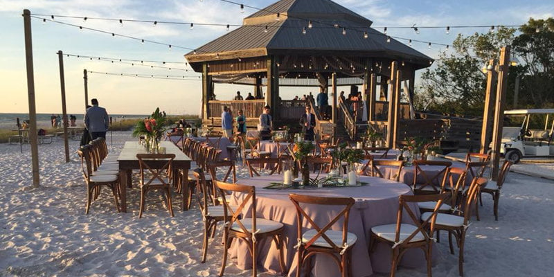 Lovers Key Beach Weddings and Events