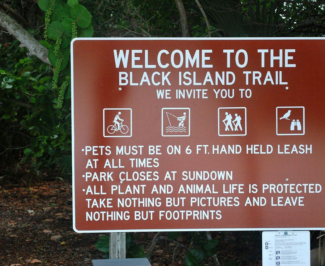Black Island Trail Lovers Key
