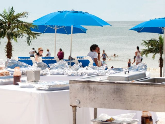 Buffet Event at Lovers Key