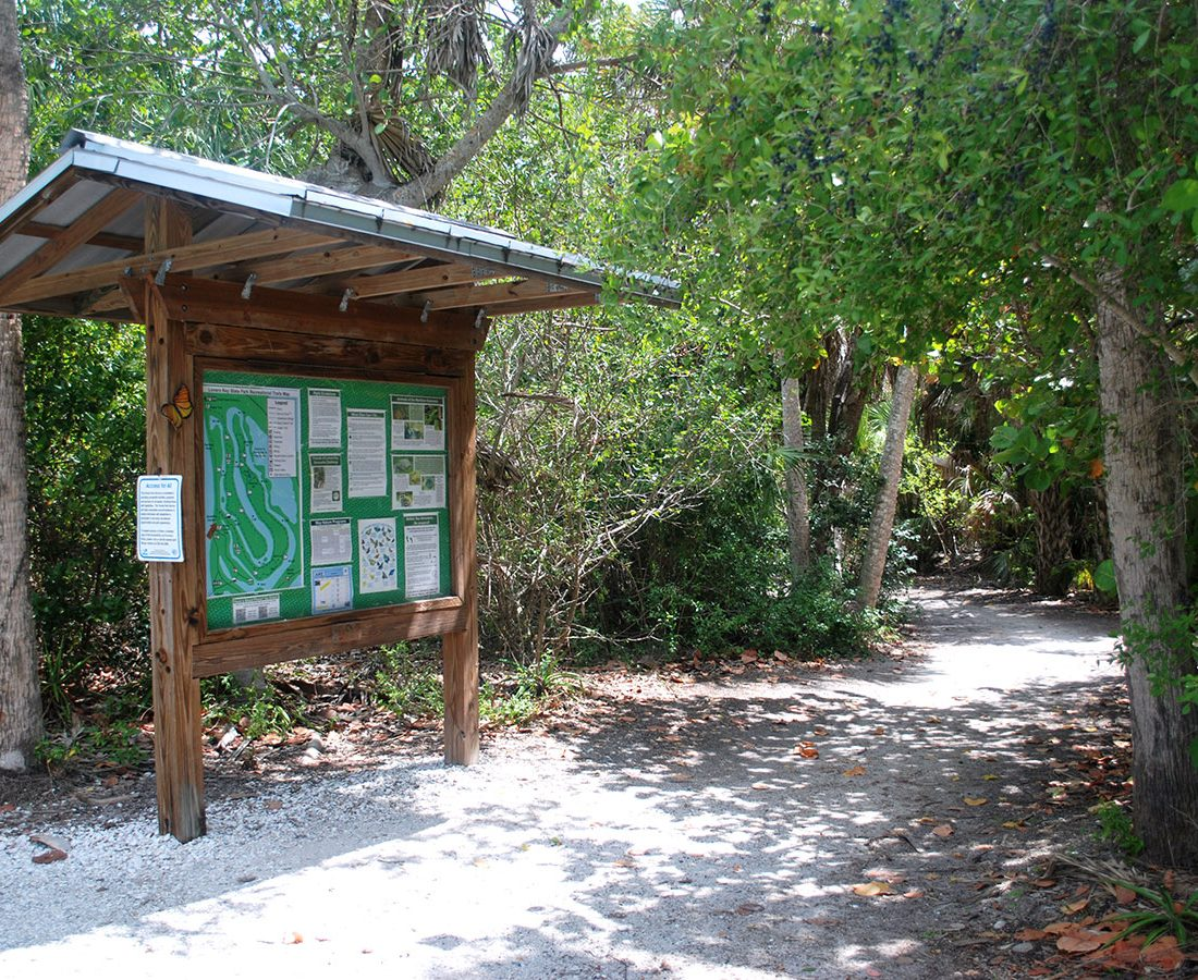 Convenient Trail Maps and Information Lovers Key