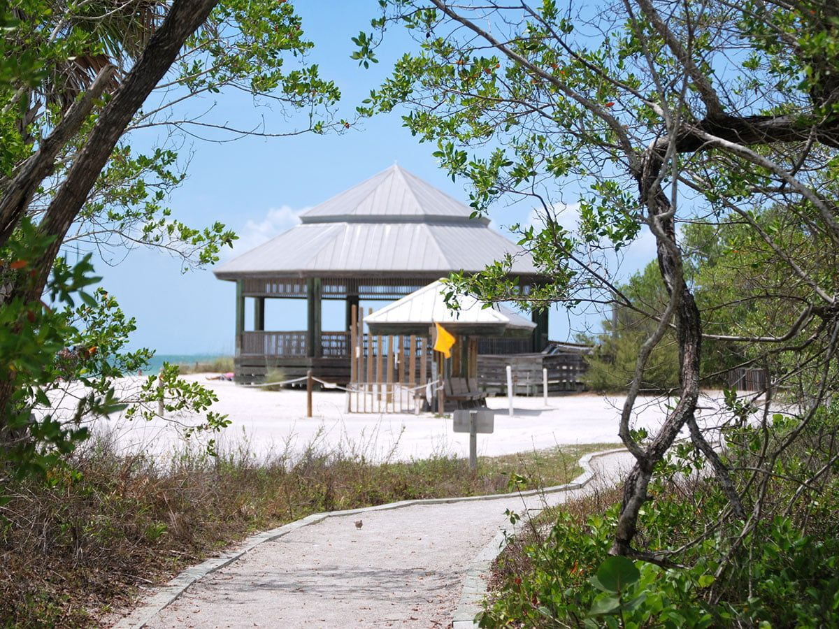 Florida Pavilion on the Beach