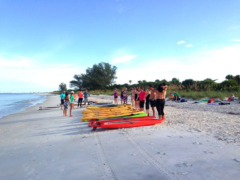Fort-Myers-Beach-paddleboard-lessons
