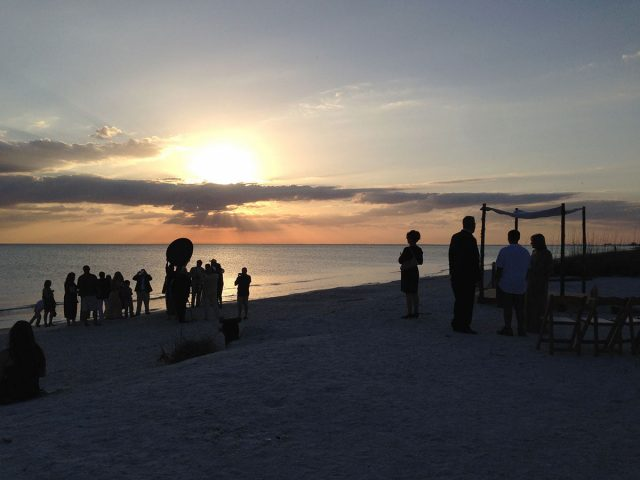 Ft Myers Beach Wedding Photography