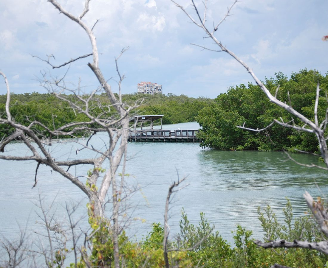 Lookout and waterways Lovers Key