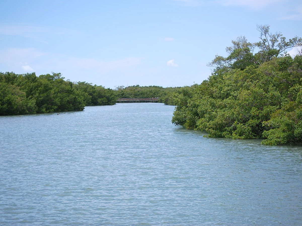 On the Way To Lovers Key Beach