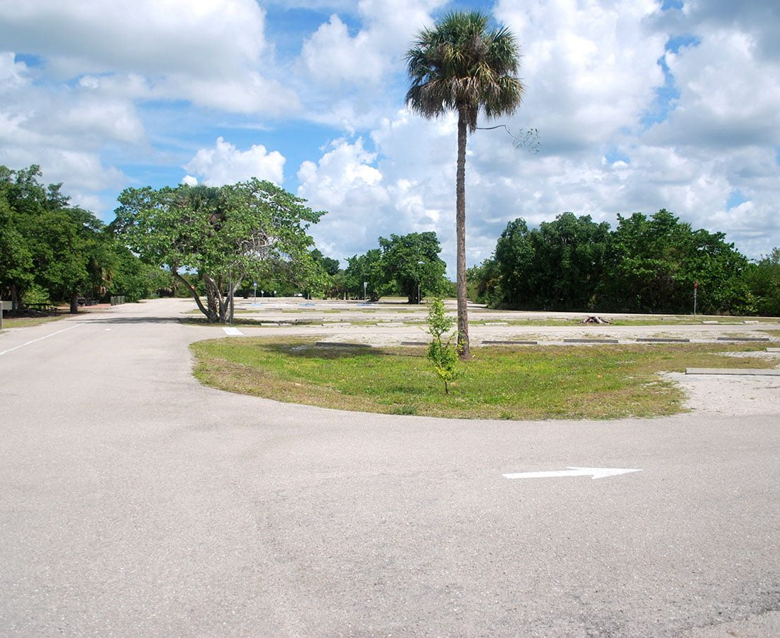 Parking At Lovers Key State Park