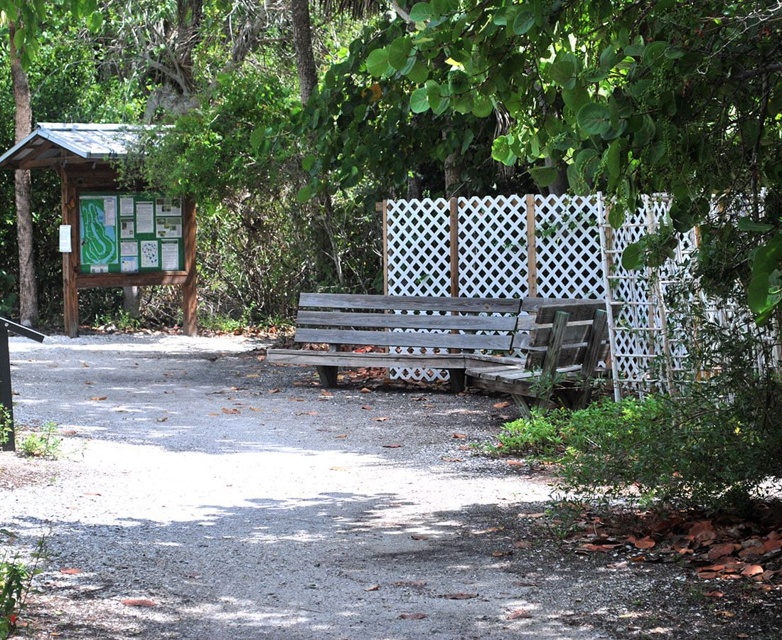 Trails Rest Areas Information at Lovers Key State Park