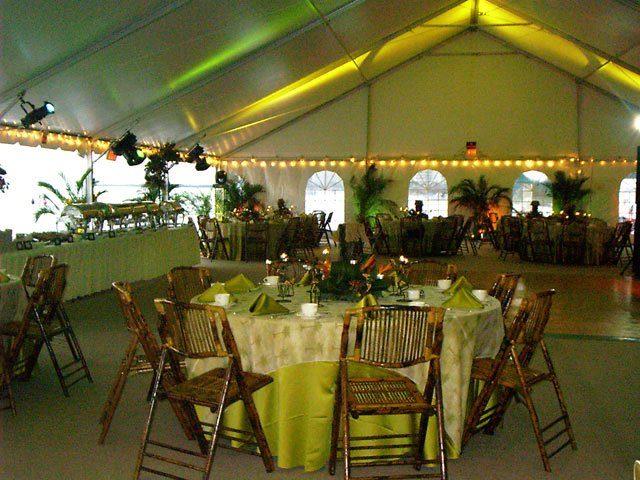 Tropical Themed Event Ballroom